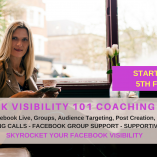 Facebook visibility coaching course